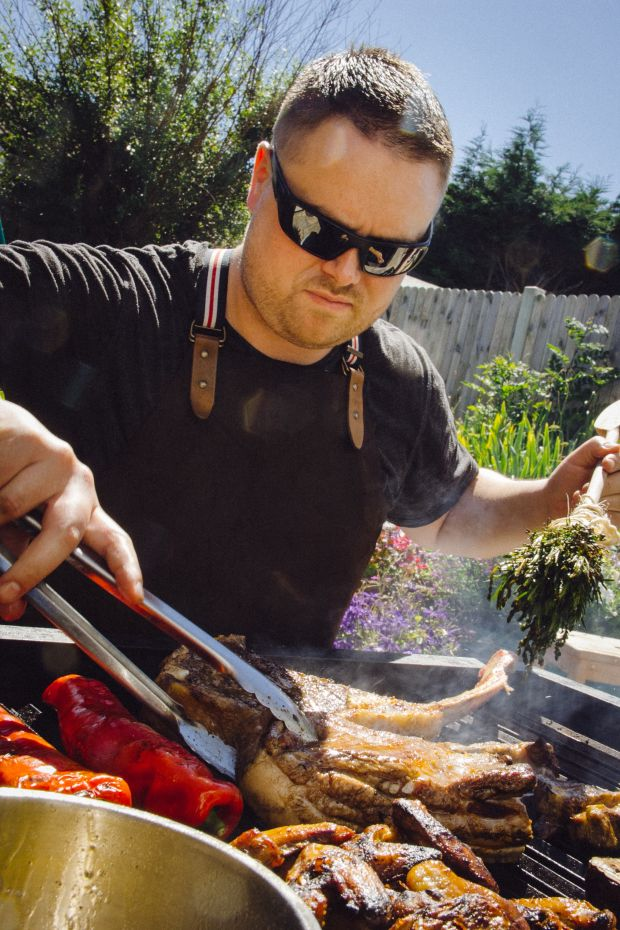 Andy Noonan, barbecue and grilling expert, co-owner of Foul Play and curator of The Big Grill festival.