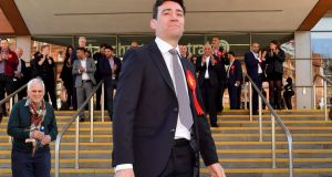 "Labour's Andy Burnham: ""We don't want the Irish people to think the Brexit-obsessed crowd down in London are speaking for us. They're not."" Photograph: Getty Images"