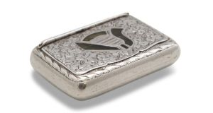The Thomas Clarke snuff box