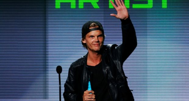 ca4c801e46d6f Avicii accepts the favorite electronic dance music artist award at the 41st  American Music Awards in