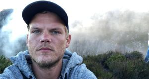 Swedish  DJ  and record producer Avicii   pictured on Table Mountain, South Africa in a photograph posted on Instagram in January.