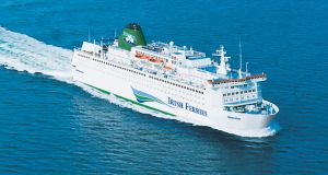 The Irish Ferries vessel the 'Oscar Wilde'. File photograph