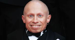 File image of actor Verne Troyer at Cannes, France,  in May 2009. File photograph: Kristian Dowling/Getty Images
