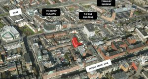 Site for sale at Grant's Row, Dublin 2