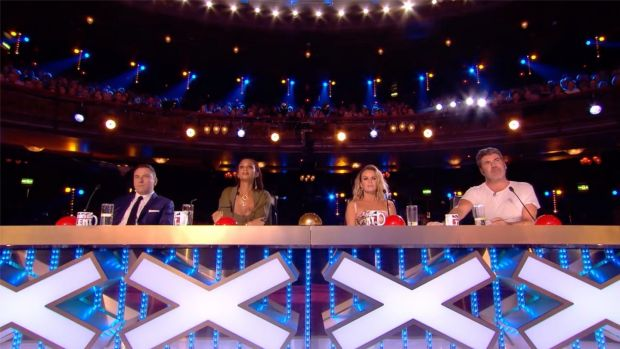 Fr Ray Kelly got four 'yeses' from the BGT judges