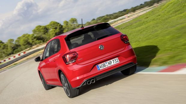 470bdeeb01 The Polo GTi comes with a conventional spring and damper shock absorber  suspension set-up