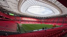 The new San Mamés Stadium – home to Athletic Bilbao – will host the Champions Cup final between Leinster and Racing 92 on May 12th. Photograph: Getty Images