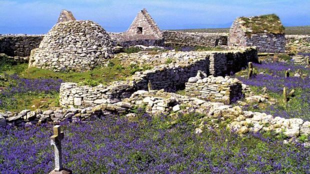 The ruins on Inishmurray Island, Co Sligo. Photo supplied with permission from Keith Clarke