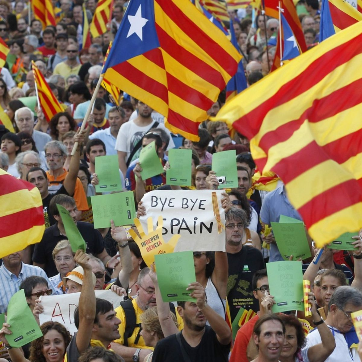 The Parliament of Catalonia has allowed the process of separation from Spain to begin