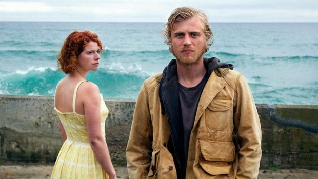 Jessie Buckley appears as Moll, a complicated young woman, in Michael Pearce's atmospheric British thriller, 'Beast' with Johnny Flynn as Pascal