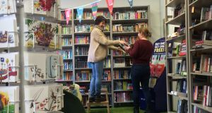 Woodbine Books in Kilcullen: The atmosphere in a bookshop is very important. This is created by a combination of elements, including layout of the shop, book displays, background music and staff interaction with customers and each other