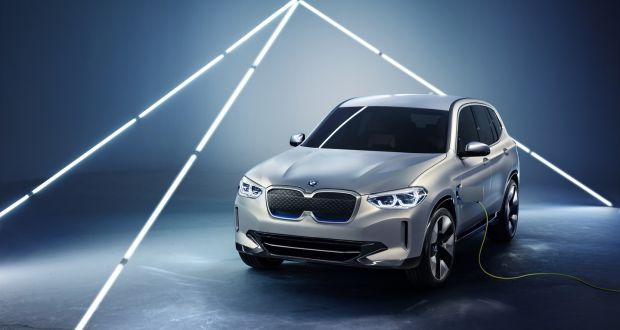 Say Hello To The Ix3 Bmw S First Electric Car