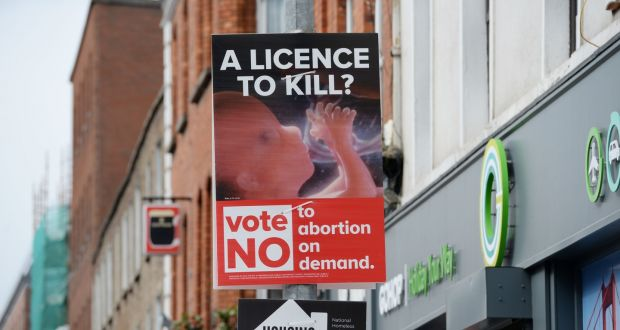 Anti-abortion posters fail to take account of life