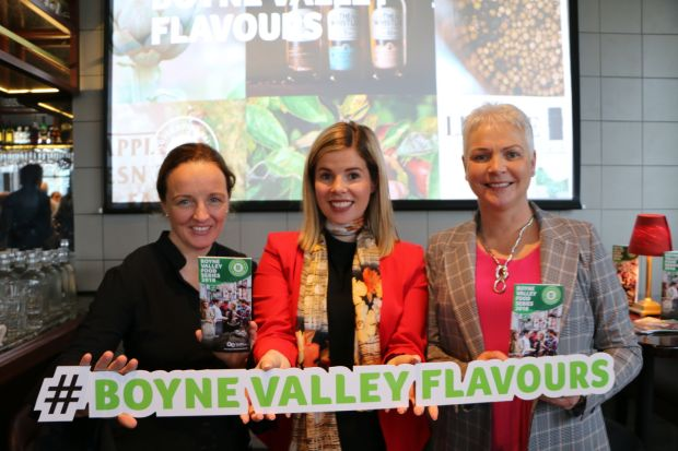 Olivia Duff, Tara Smith and Bronagh Conlon at the launch of Discover Boyne Valley Flavours.