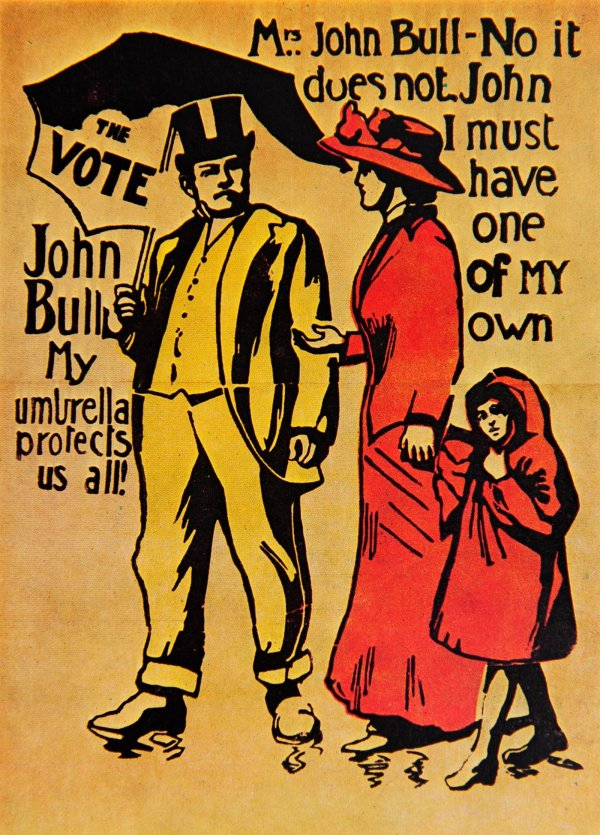 A votes for Women Poster