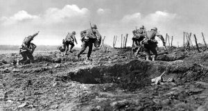 German soldiers on the offensive. Photograph: Neurdein/Roger Viollet/Getty