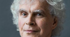 Simon Rattle. I found a huge amount to admire in the LSO's performance of Mahler's Ninth Symphony under Rattle.