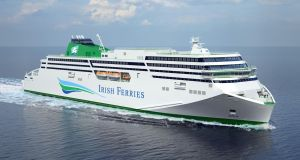 Irish Ferries has confirmed that  5,000-10,000 customers are affected by cancelled bookings on a new ferry, the WB Yeats
