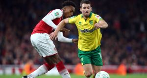 Wes Hoolahan has announced he is leaving Norwich City. Photo: Kieran Galvin/NurPhoto via Getty Images