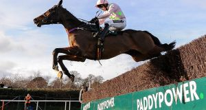 Douvan could give Willie Mullins a valuable prize in the €275,000 Boylesports Champion Chase. Photograph: Seb Daly/Sportsfile via Getty Images
