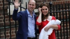 It's a boy: Britain's latest royal baby makes brief appearance