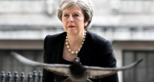 British prime minister Theresa May's approach does not command a majority in parliament. Photograph: Victoria Jones/Pool