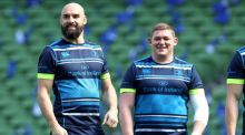 Leinster players Scott Fardy and Tadhg Furlong are on the shortlist for European Player of the Year. Photograph: Bryan Keane/Inpho