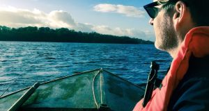 Bradley Wood on Lough Oughter