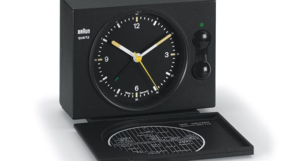 The Braun AB 20 Travel Clock Boasts Perfect Simplicity