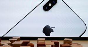 It is anticipated that Apple will make a series of unspecified payments into an escrow account starting in May as it begins to pay its €13 billion Irish tax bill. Photograph: Elijah Nouvelage/Reuters