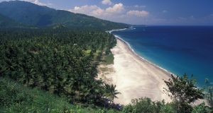 A beach in Bali, Indonesia. File photograph: Getty Images