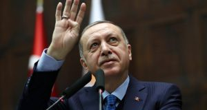 In calling a snap election for June 24th, Turkish president Recep Tayyip Erdogan can claim credit for an economic boom while neutralising political opponents and taking a final step towards his long-cherished executive presidency. Photograph: Adem Altan/AFP/Getty Images