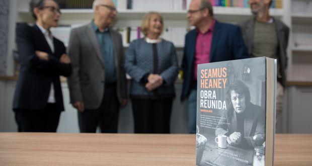 Seamus heaney as seen from russia hungary poland and mexico at a celebration of seamus heaney to mark the opening of a new building for the fandeluxe Gallery