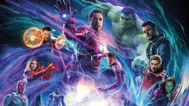 avengers infinity war: overlong, overcrowded and over here
