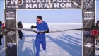 Irish athlete runs fastest ever mile at the North Pole