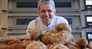 Eoin Cluskey of Bread Nation, Pearse Street, Dublin, in his new bakery. Photograph: Nick Bradshaw