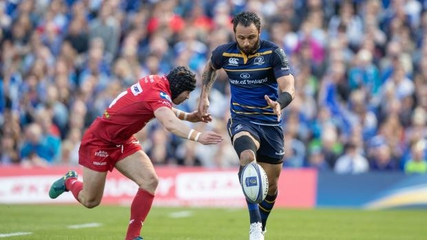Leinster's Isa Nacewa will retire after 180-plus games and 700 points later. Photograph: Morgan Treacy/Inpho