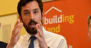 Minister for Housing Eoghan Murphy last week said 1,014 social houses had been built in 2017. Photograph: Cyril Byrne / THE IRISH TIMES