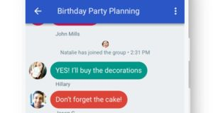 Google is developing Chat, which will have to be adopted on an operator-by-operator basis rather than as an update through the Play Store.