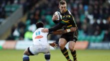 Wales wing George North will join the Ospreys this summer from Northampton. Photograph: David Davies/PA Wire.