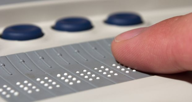 A braille device for blind computer users. The Association for Higher Education Access and Disability has about 1,000 graduates on its books who are looking for work. Photograph: iStock