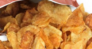 Don't always expect to find any cheese in a packet of cheese and onion crisps. Photograph:  iStockphoto