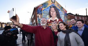 Sinn Féin's electoral politics: under the Belfast Agreement the party could win every seat in the Dáil and still not circumvent the unionist veto. Photograph: Charles McQuillan/Getty