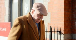 Michael Fingleton arriving at the Irish Nationwide inquiry in February. Photograph: Alan Betson/The Irish Times