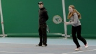 Blind tennis is even harder than it sounds