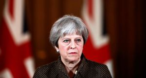 "Brexit warning to Theresa May: ""The UK has to face up to the fact that decision time is here."" Photograph: AFP/Getty"