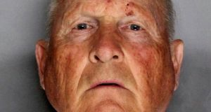 Joseph James DeAngelo:  arrested in connection with the decades-old 'Golden State Killer' case. Photograph: Sacramento County Sherriff's Office