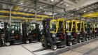 Combilift manufactures forklifts at its Monaghan plant.