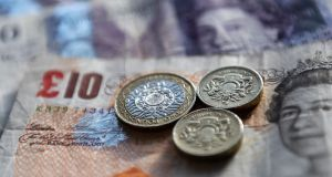 The British currency edged 0.1 per cent lower at $1.3915, taking its losses so far this month to more than half a per cent.