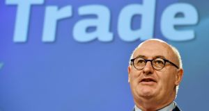 European Commissioner Phil Hogan: 'We must be on our guard.' File photograph: Eric Vidal/Reuters